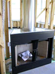 Chimney Interior Installation