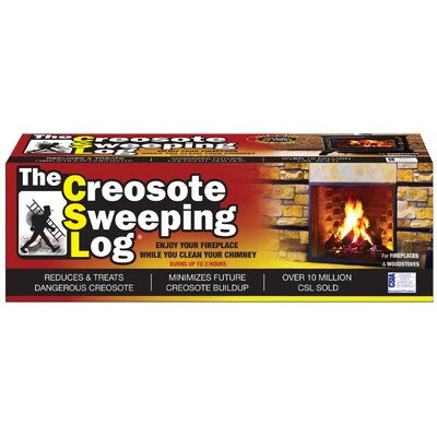 creosote sweeping log