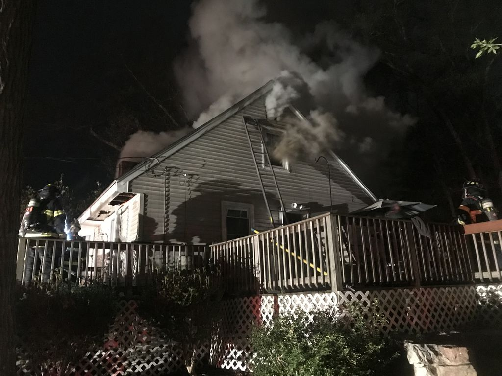 Chimney Fire Causes House Fire